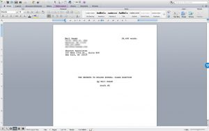 The Word Doc Manuscript of The Secrets to Ruling School: Class Election